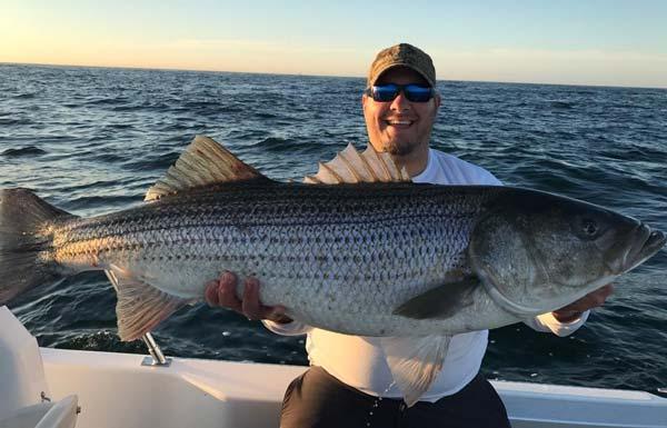 Rhode island fishing report july 20 2017 on the water for Striper fishing ri