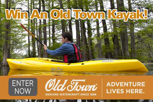 Win An Old Town Kayak! - On The Water