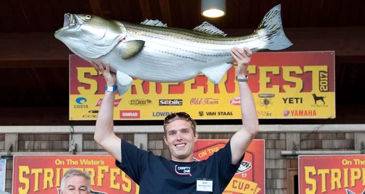 Striper of The Year recipient Matt Weckbacher