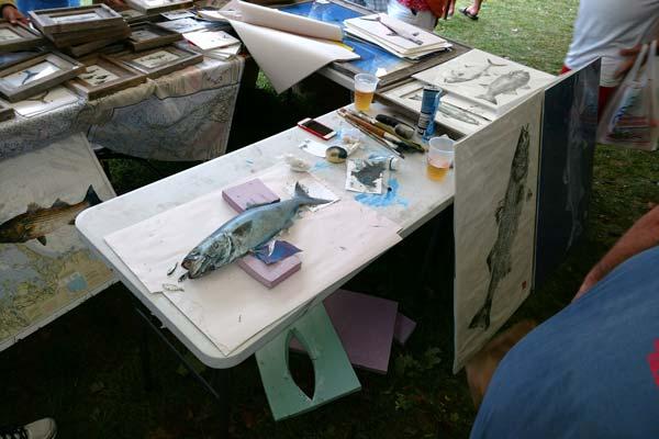 Joe's Fresh Fish Prints demonstration