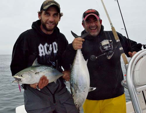 Once you figure out what they want, false albacore will reward you with fast action and multiple-fish days.