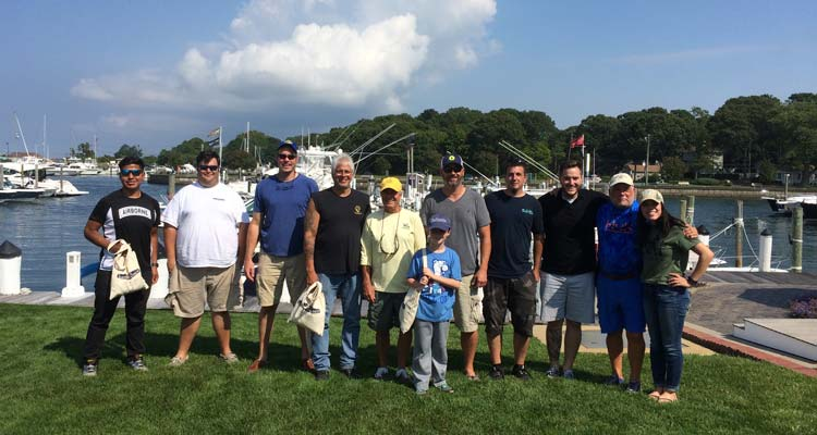 Winners from the 1st Annual Take A Vet Fishing Tournament