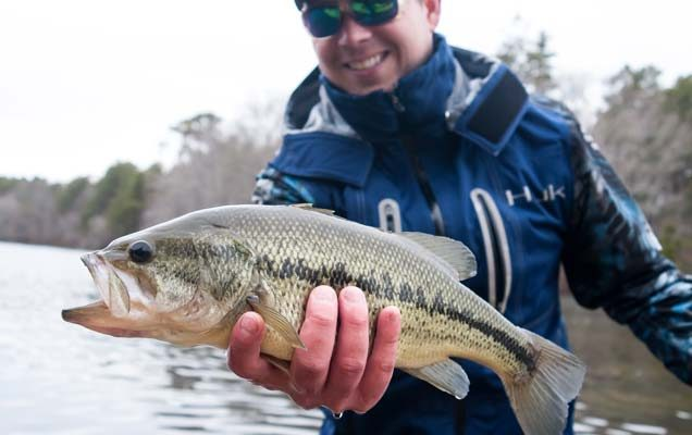 Go Light To Catch More Coldwater Bass