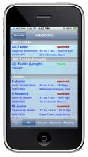 IGFA iPhone App