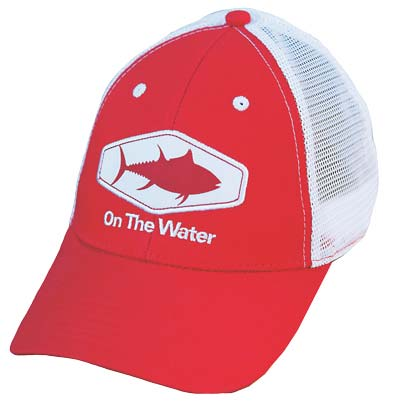 On The Water Outfitters Tuna Trucker snapback cap