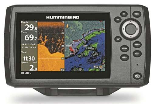 Humminbird Helix 5 CHIRP Sonar/GPS G2 Combo Fishfinder