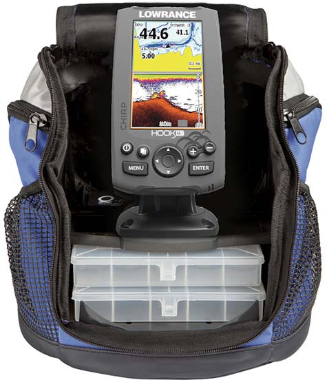 Lowrance Hook-4 Ice Machine