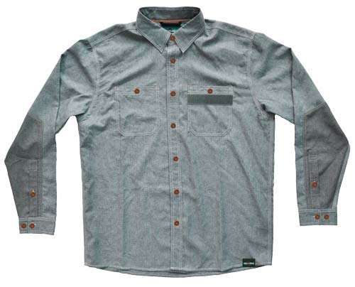 Rep Your Water Side Channel Button Down