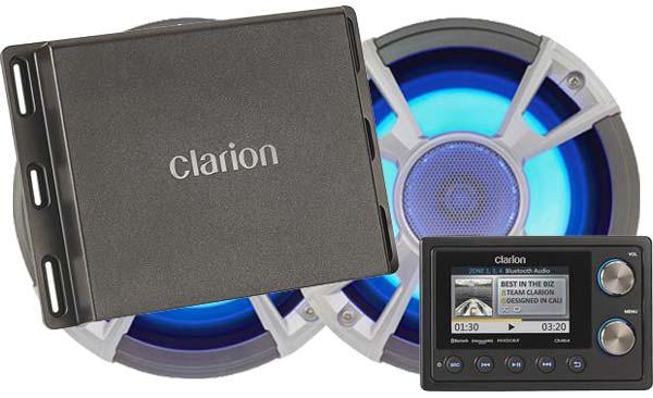Clarion CMS4 Marine Audio System