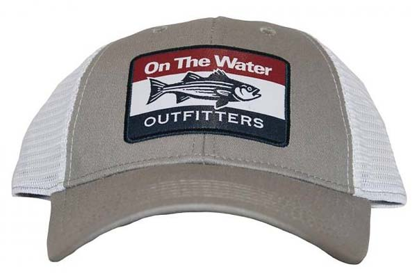 On The Water Outfitters Striper Trucker Hat