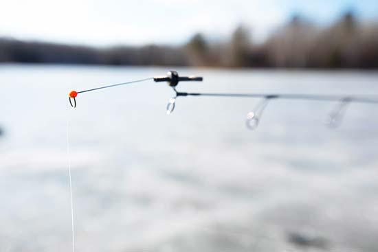 Seaguar AbrazX on St. Croix Rod Legend Black ice rod