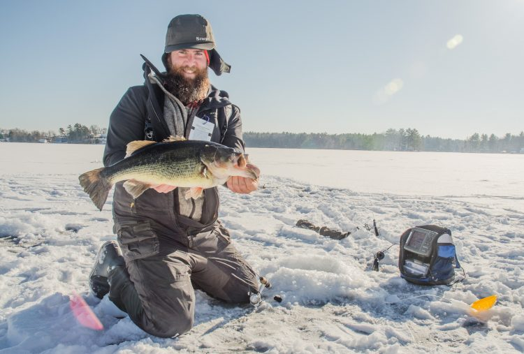 Learning to love ice fishing on the water for Ice fishing for bass