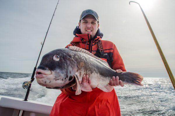 Sean Jones 16-pound blackfish