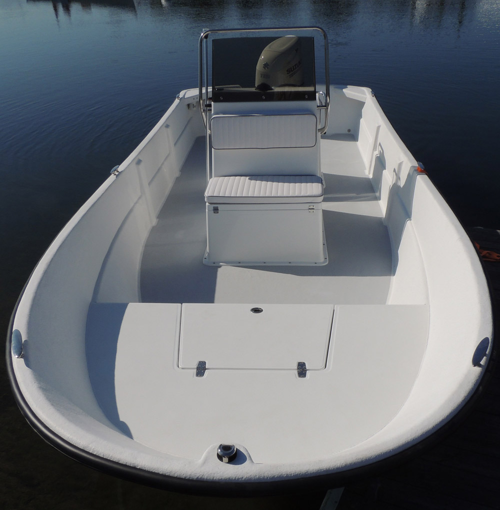Maritime Boats 2090 Skiff front view