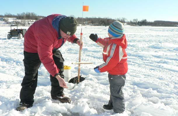 Vermont Ice Fishing