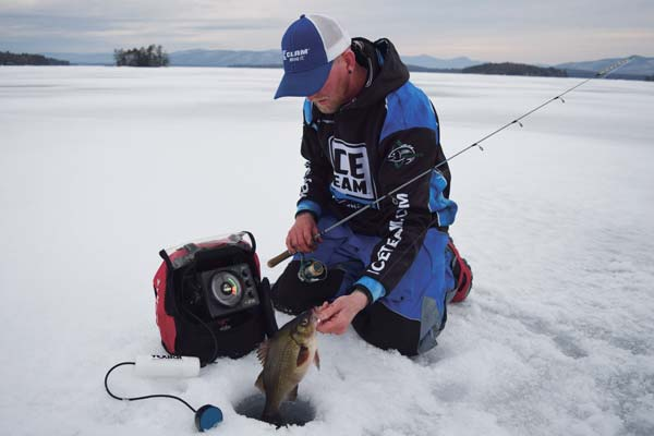 Stay mobile to locate nomadic schools of white perch.