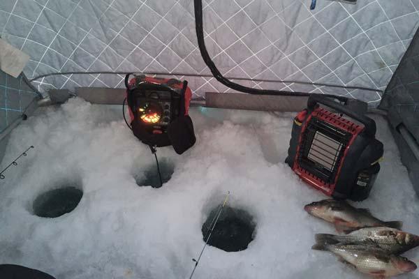 portable ice fishing shelter