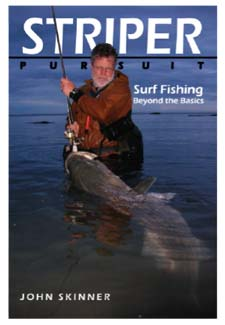 "John Skinner's book, ""Striper Pursuit,"""