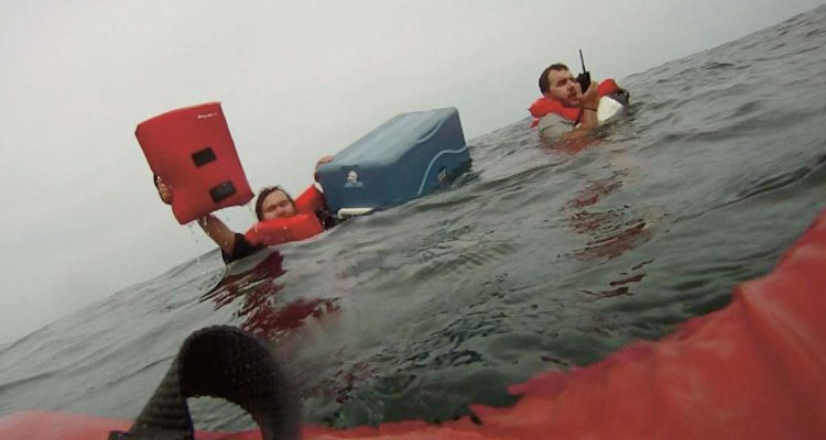 Cold-Water Survival Tips