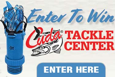 Enter To Win A Cuda Tackle Center!