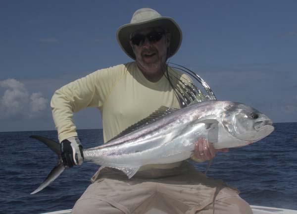 Inshore fishing jack crevale