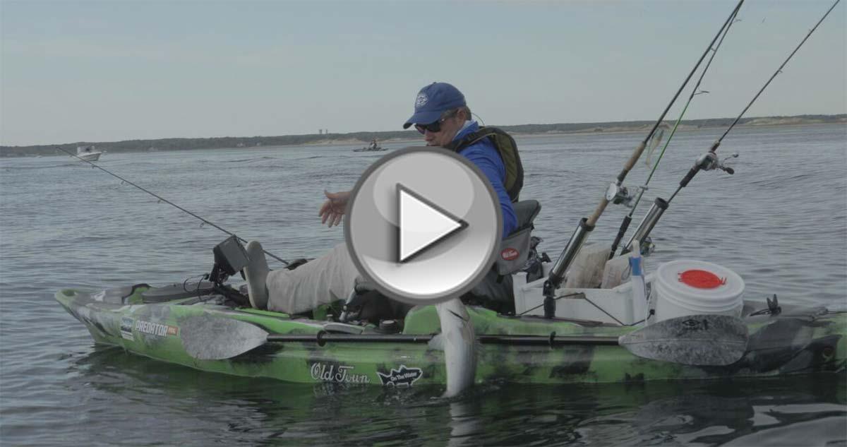 Kayak fishing cape cod on the water for Freshwater kayak fishing