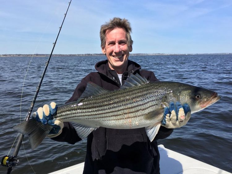 Northern new jersey fishing report april 26 2018 on for Best saltwater fishing spots in nj