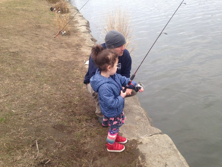 Northern new jersey fishing report april 12 2018 on for Nj fishing reports freshwater