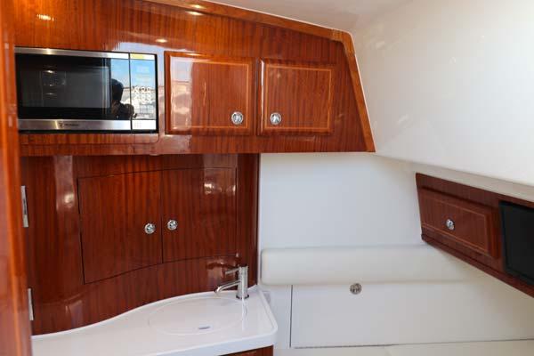 Newly designed interior handmade on-site