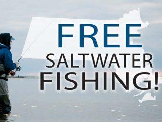 Free Saltwater fishing weekend