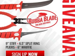 Win A Bubba Blade Angler's Prize Pack!