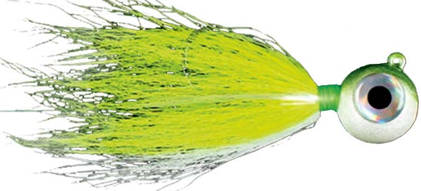 S and S Bucktails Big Eye Flukes