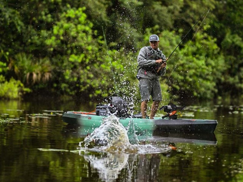 Old Town Launches New Topwater Series Fishing Kayaks - On