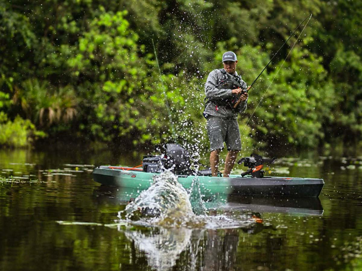 Old Town Launches New Topwater Series Fishing Kayaks On