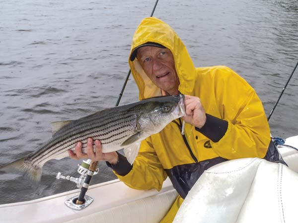 light-tackle spinning striped bass