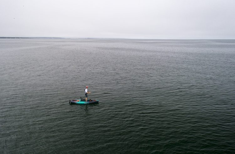 Old Town Topwater FIshing Kayak Drone