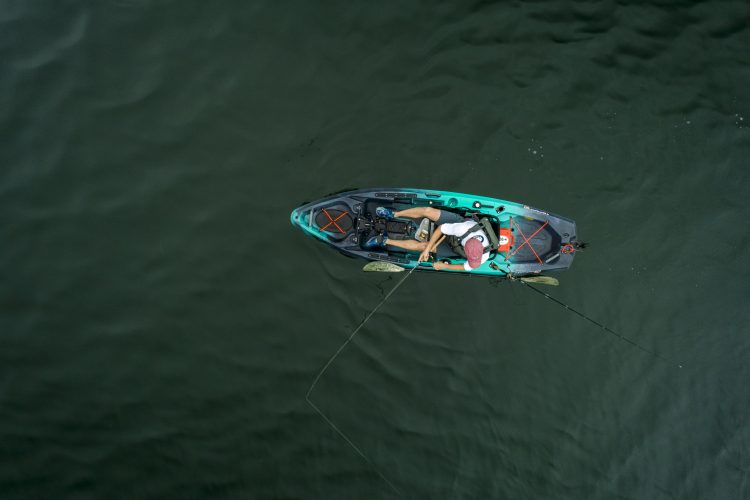 Test Drive: Old Town Topwater PDL Fishing Kayak Review - On The Water