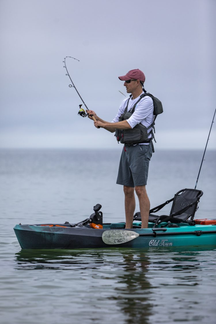 Test Drive: Old Town Topwater PDL Fishing Kayak Review - On