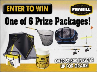 Win A Frabill Gear Package!