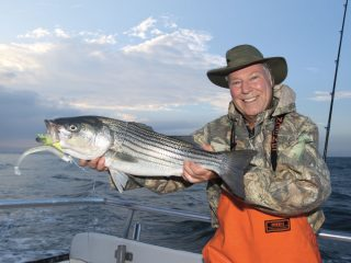 striper fell to a paddletail BigFin