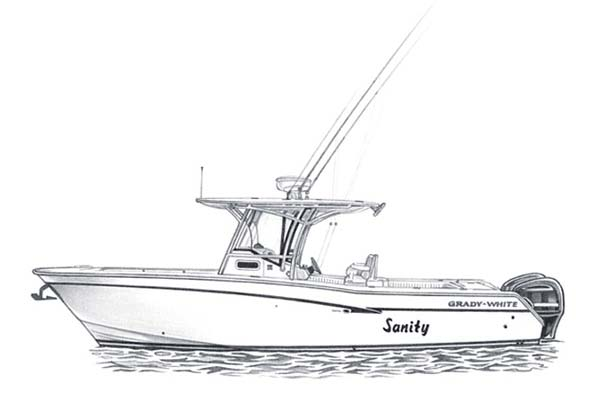 Baldwin Studios Boat Notecards