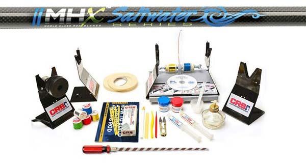 MHX Saltwater Turnkey Rod Kit