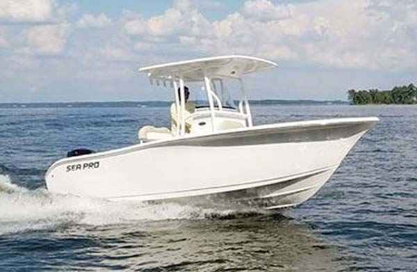 Sea Pro 259 Deep V Center Console