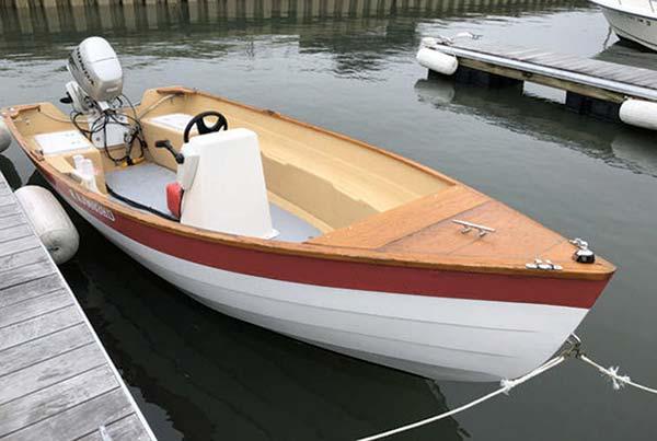 Stur-Dee Boat Amesbury Dory 16