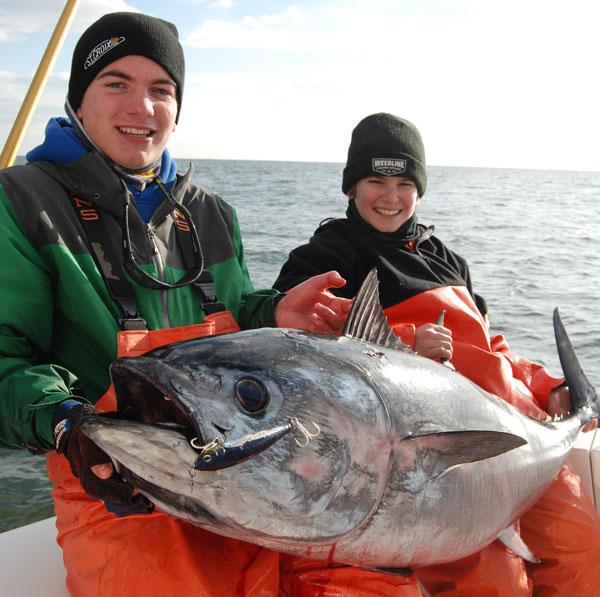 Tommy Freda bluefin tuna