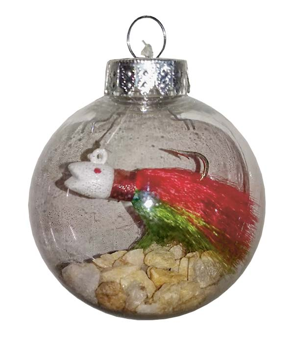 Blue Water Ventures Christmas Bucktail Ball