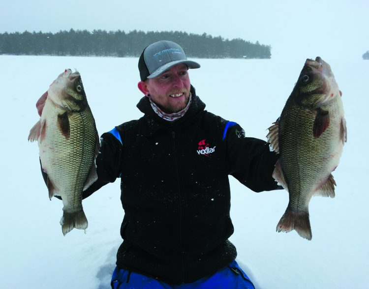 Your jigging cadence for white perch is important because every lure is designed to produce a certain action.