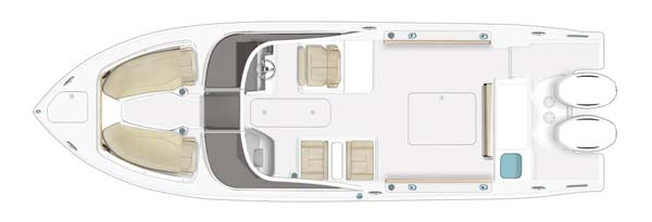 Pursuit DC266 - build your boat