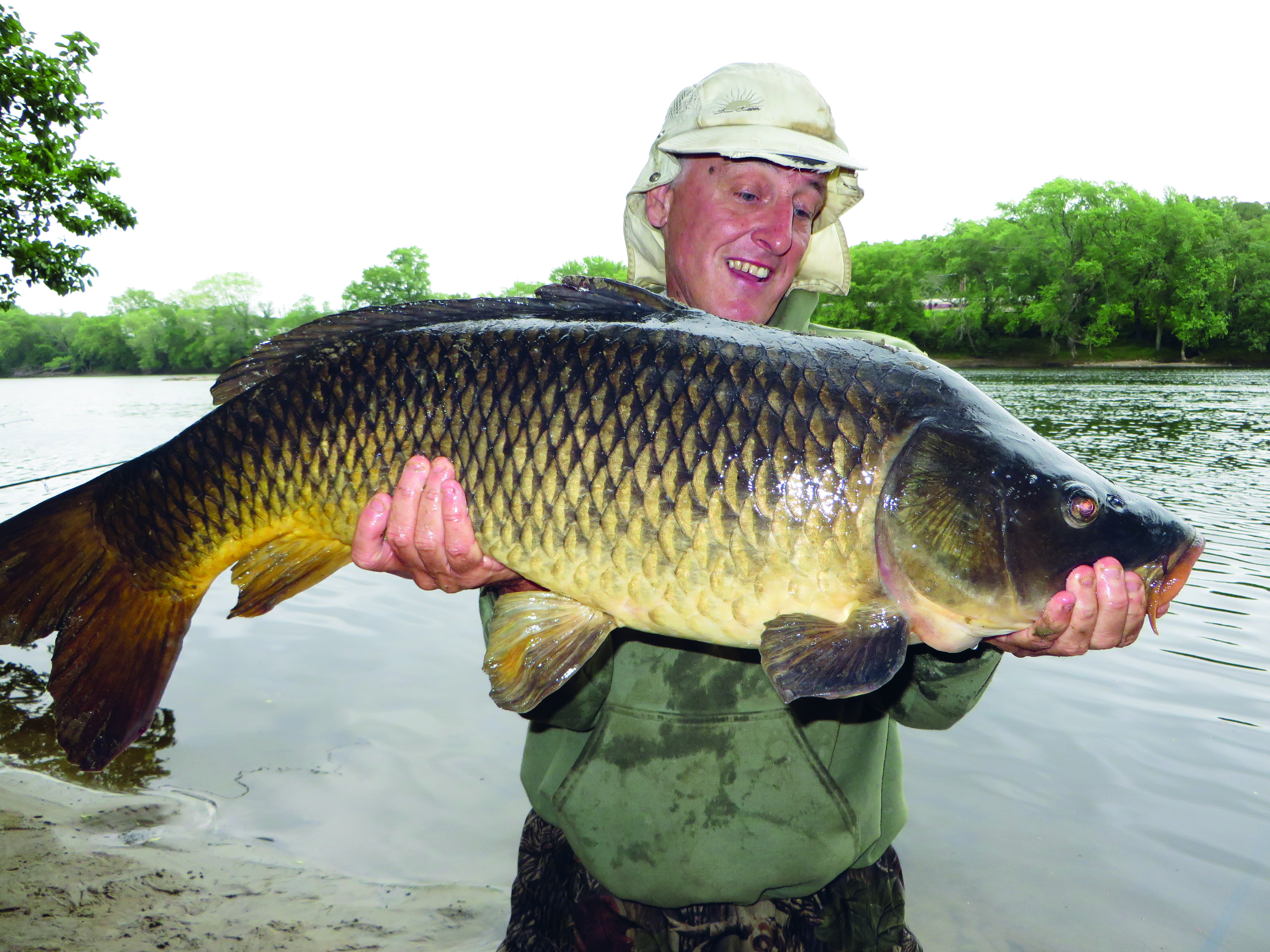 Carp Fishing Tips For Big Rivers On The Water