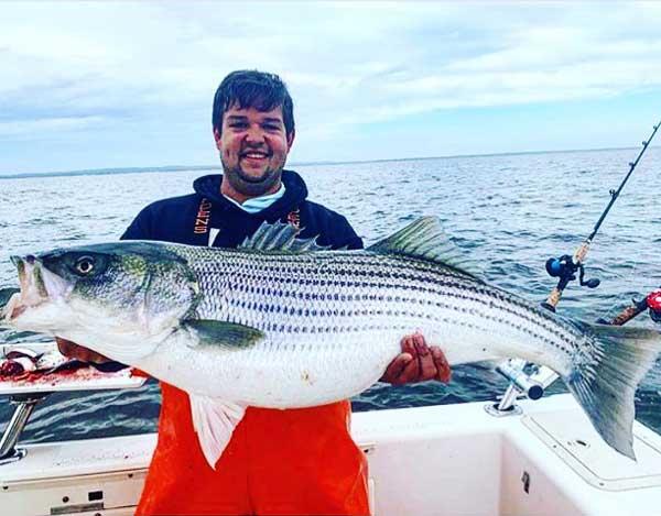 Raritan Bay striped bass